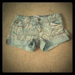 Size 12 kids Jean shorts